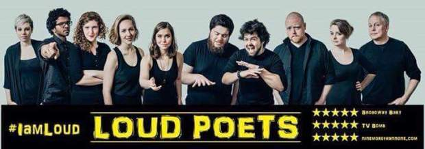 Loud Poets Fringe '15 cover