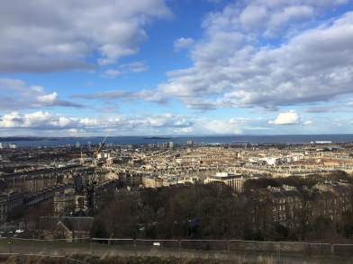 Calton Hill, Edinburgh, March 2018