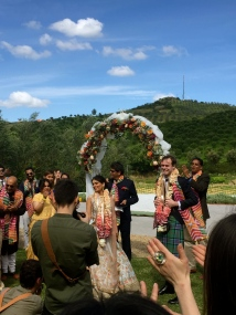 My friend Mrija's beautiful wedding ceremony