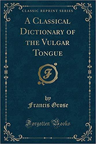 vulgar tongue