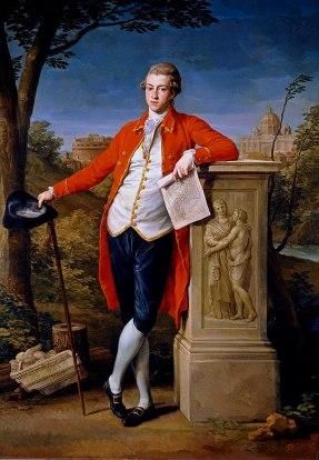 Francis Basset, 1st Baron de Dunstanville by Pompeo Batoni in 1778