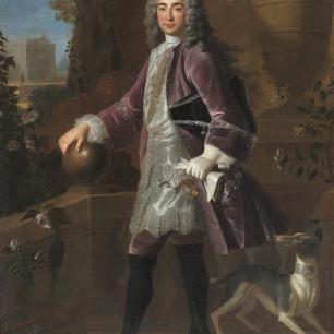 Portrait of Elie de Beaumont by Robert Gabriel Gence in 1710