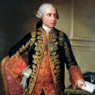 Portrait of the Marquis of Astorga by Anton Raphael Mengs in 1775