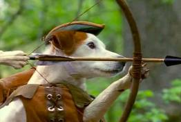 Wishbone as Robin Hood, from Bustle